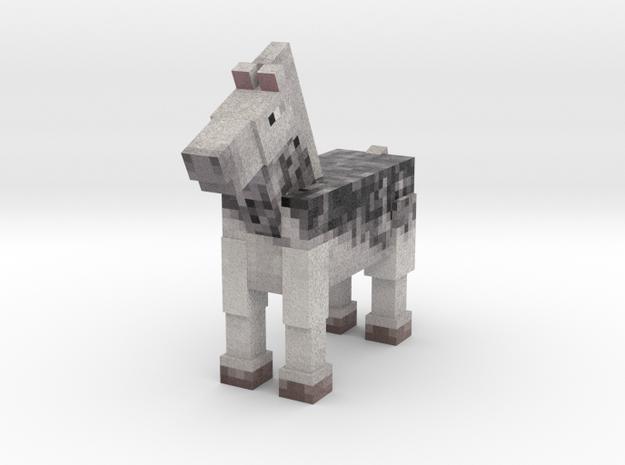 Horse 022 in Full Color Sandstone