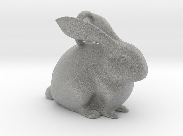 Bunny Pendant  in Metallic Plastic