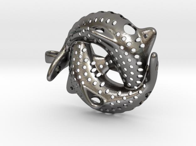 Interconnected Fish - Yin and Yang Pendant