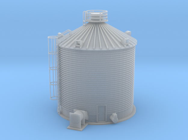 Single Corn Silo Z Scale in Smooth Fine Detail Plastic