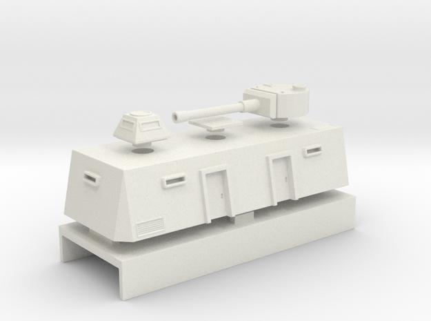 Command Car Europe Set in White Natural Versatile Plastic
