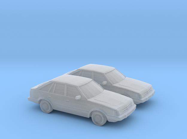 1/148 2X 1985-87 Ford Escort