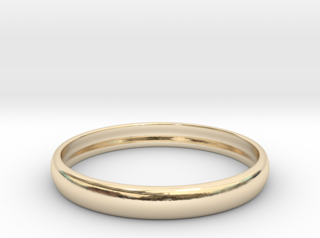 PA RingEasyCT12t08H3d215 in 14K Yellow Gold