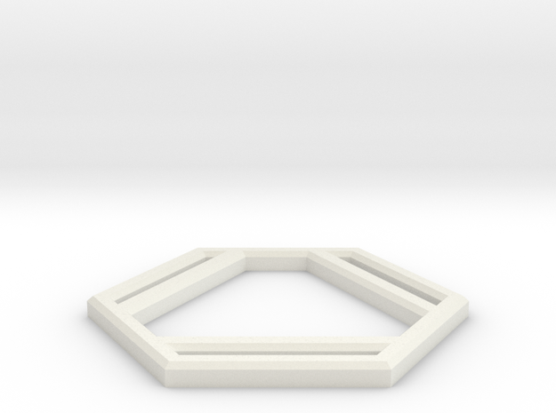 Benzene in White Natural Versatile Plastic