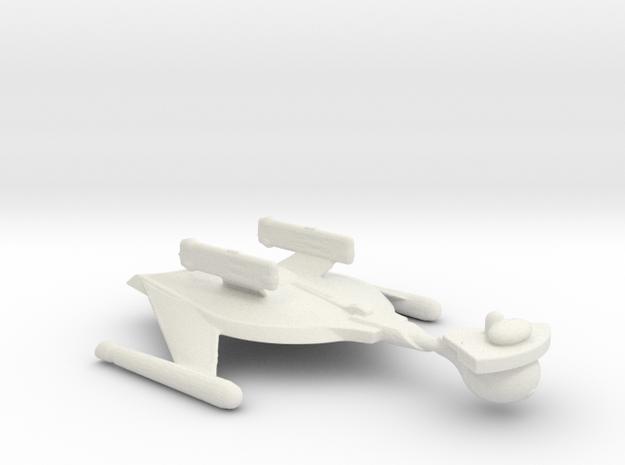 Romulan Battle Bird in White Natural Versatile Plastic