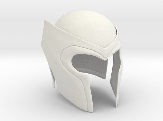 Magneto helmet from X-Men 2&3 movies in White Natural Versatile Plastic