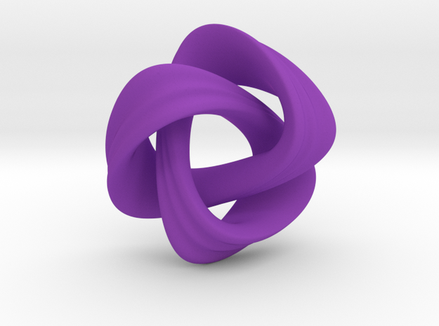 Nudo Pendant 3d printed