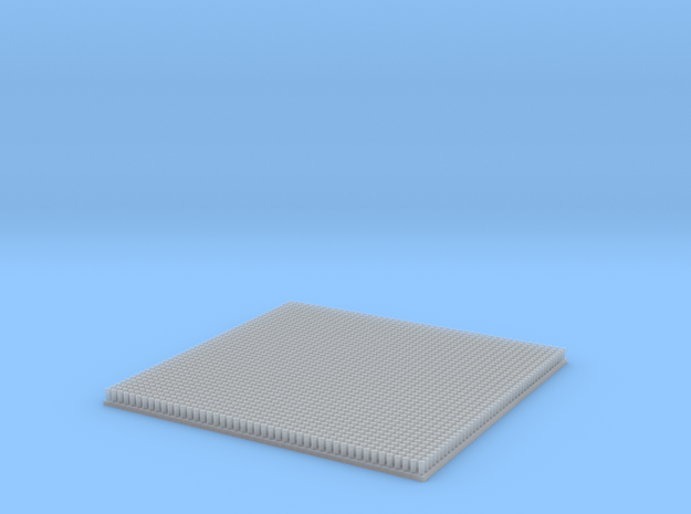 Scale Fastensers.  2070x 0.75mm 'Straight' Rivets in Smooth Fine Detail Plastic