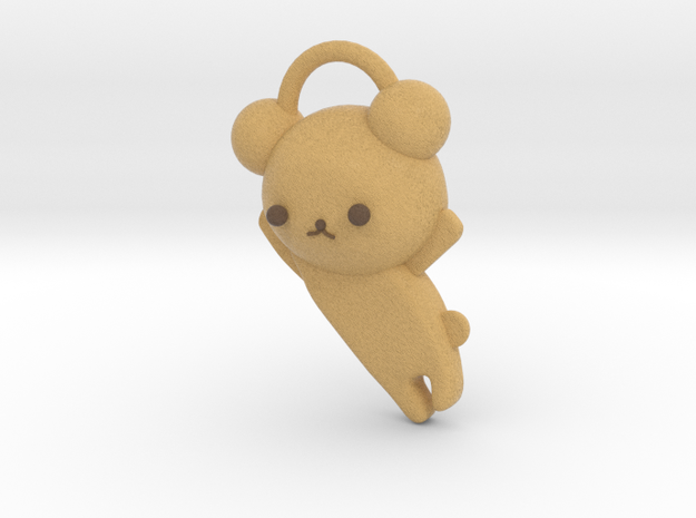 3D BEAR in Full Color Sandstone