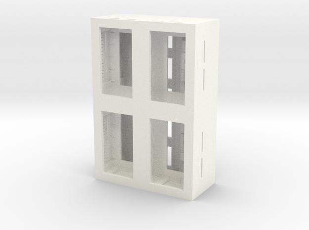 1350 NX Shuttlebay in White Processed Versatile Plastic