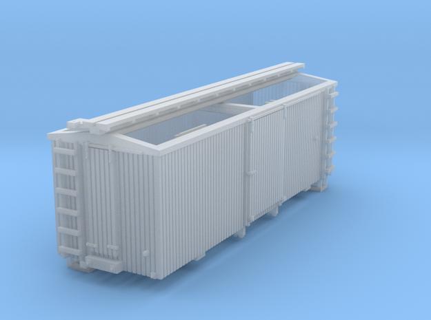 HOn30 22ft Boxcar (FUD) 3d printed