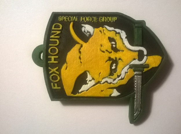Foxhound 3d printed