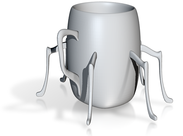 Spider cup 3d printed