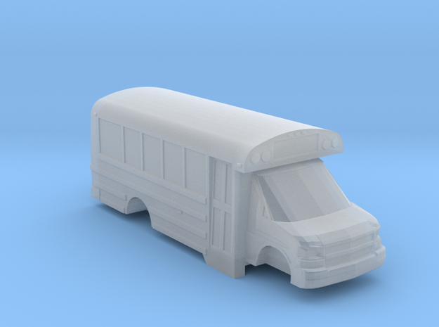 n scale thomas minotour chevy express school bus in Smooth Fine Detail Plastic