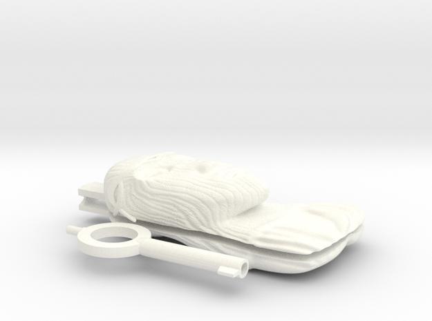 Jessus in White Processed Versatile Plastic