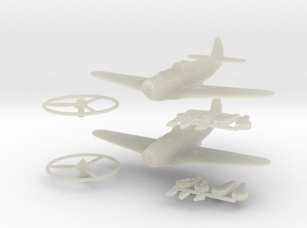 1/144 Yakovlev Yak-3 (x2) 3d printed