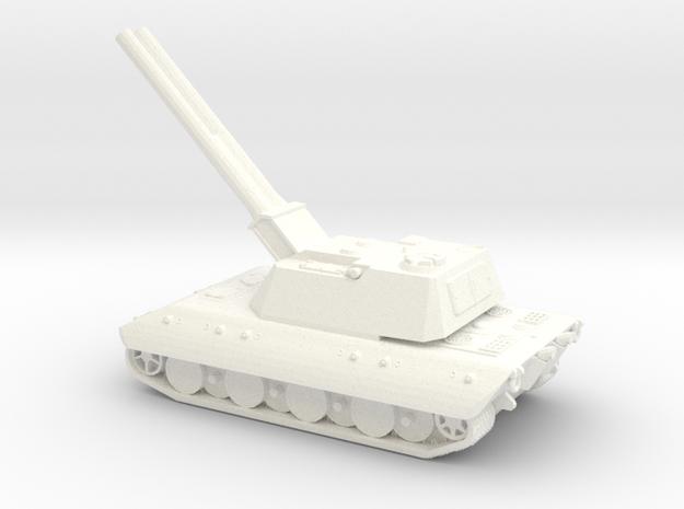 E100-Alligator-285 in White Processed Versatile Plastic