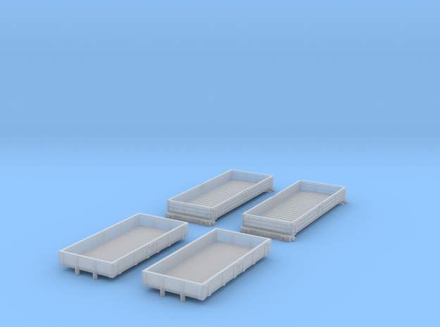 BR Engineering Wagons in Smoothest Fine Detail Plastic