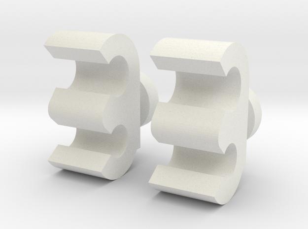 Handconnector TFC OS Uranos V1 in White Natural Versatile Plastic