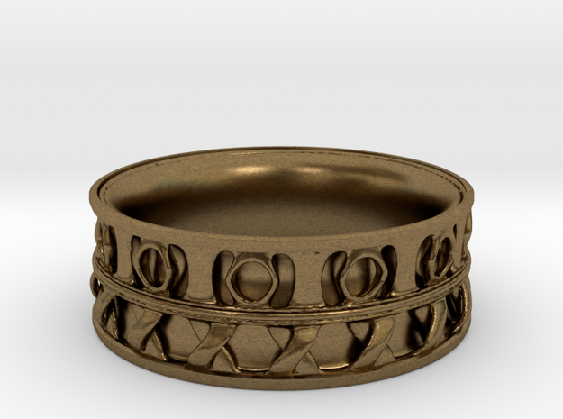 King Ring 1 3d printed