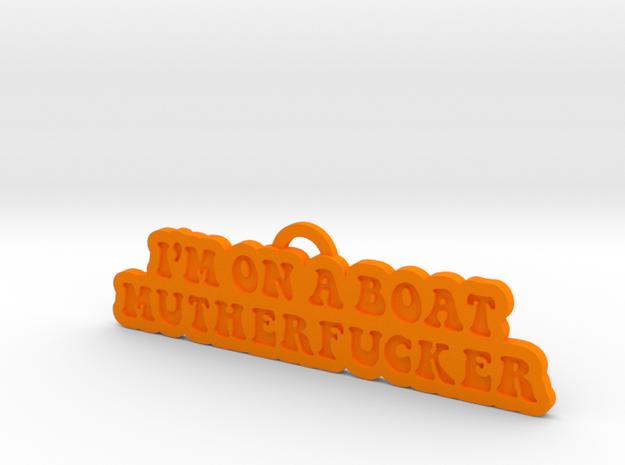 Onaboat01 in Orange Strong & Flexible Polished