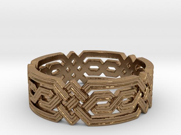 Fantasy Geometric Knot Ring