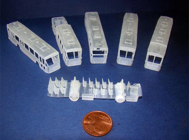 DAF MB 200 standaard streekbus schaal 1:160 (N)
