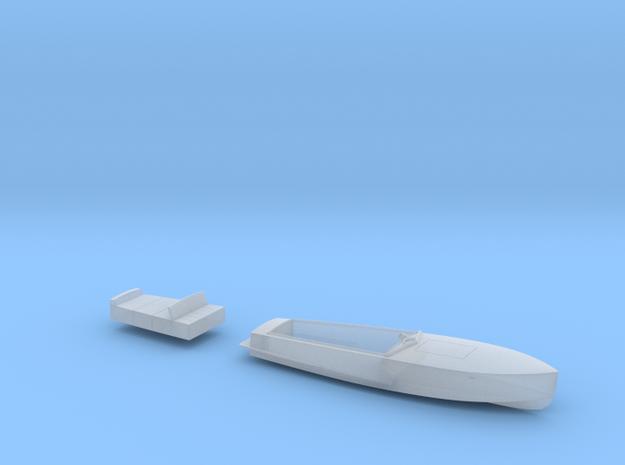 1/87 JULIKA 660 - wooden electro-speedboat