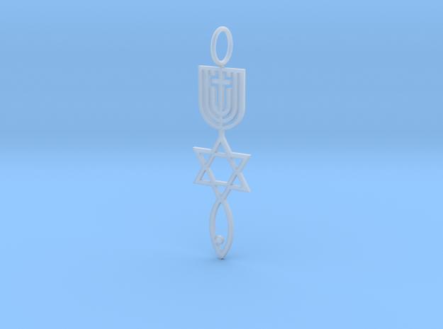 MessianicSealOfJerusalem Plain 3d printed