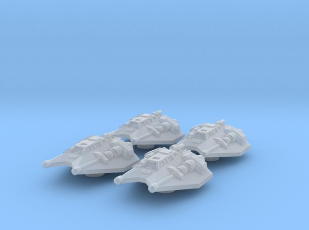 4x Snowspeeder 1/270  3d printed