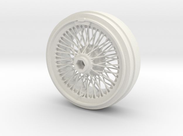 1/8 Wire Wheel Front, with 72 spokes