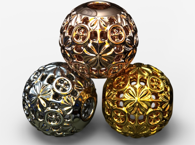 PA Ball V1 D16Se49 in 18k Gold Plated