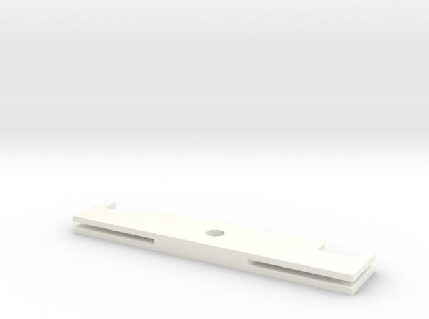Skywarps Part in White Processed Versatile Plastic