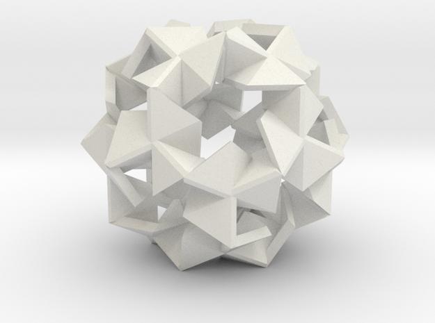 Pinwheel Lattice - 3.4 cm in White Strong & Flexible