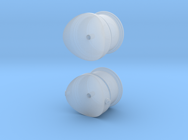 Cooke 2-8-0 Domes - Sn3 in Smoothest Fine Detail Plastic