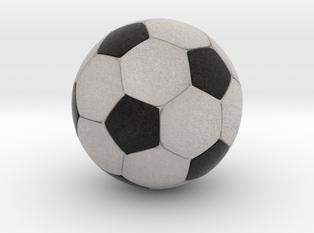 "Foosball 1.2"" Inch / 3.048 cm diameter in Full Color Sandstone"