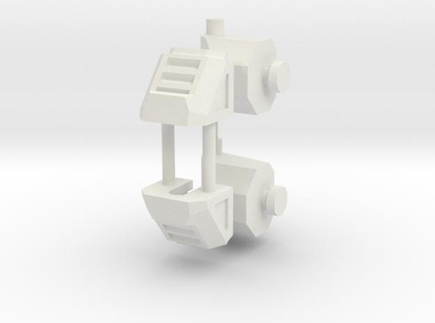 Feet KO TFC Slingshot/Fireflight V2.0 in White Natural Versatile Plastic