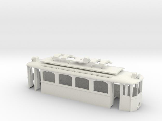 G2 Strassenbahn Wien Exkursionswagen Gehäuse in White Natural Versatile Plastic