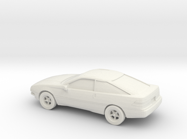1/87 1988-92 Ford Probe in White Natural Versatile Plastic