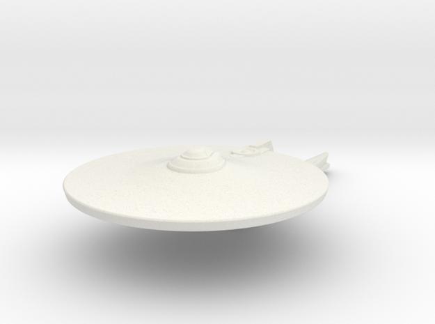 1/5000 Destroyer Jenghiz  in White Natural Versatile Plastic