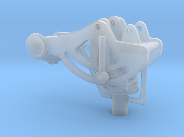 1/16 Mount for the Browning 30 cal Machine gun.