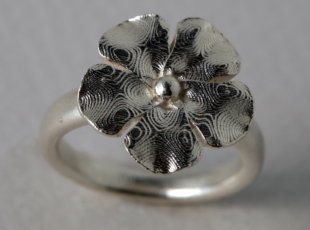 Ringflower US Size 5.3/4 3d printed