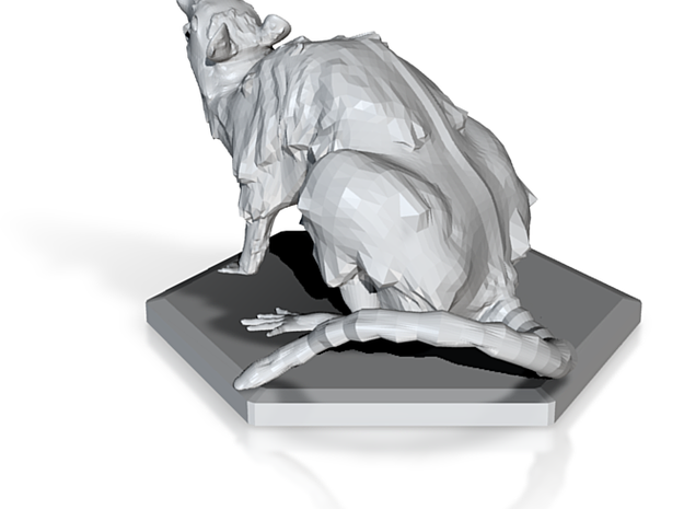Magic: The Gathering Rat Token 3d printed