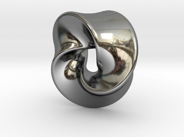 TriangleSwirl360 in Premium Silver
