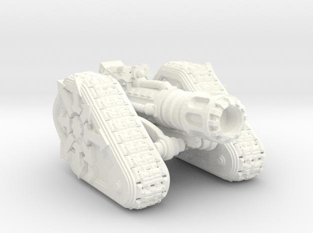 Chaos Renegade Scimitar V3-LD in White Processed Versatile Plastic