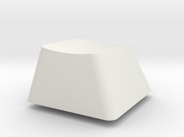 Topre Key - row E in White Natural Versatile Plastic