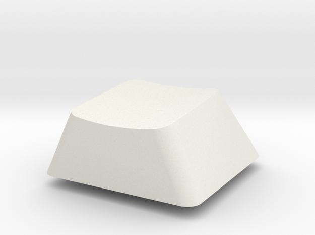 Topre Key - row C in White Natural Versatile Plastic
