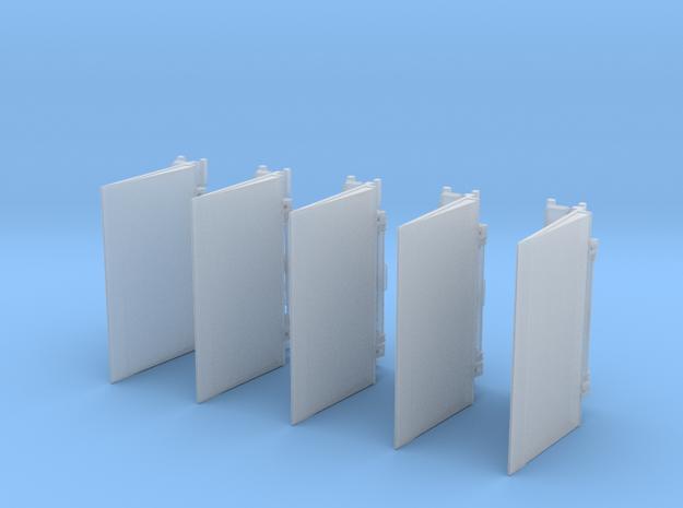 Ladebordwand GW-Versorgung 5x  in Smooth Fine Detail Plastic