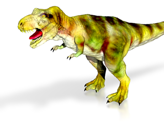 T-Rex-tured in White Strong & Flexible