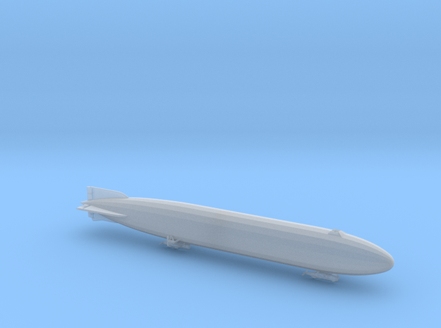 Zeppelin P Type of WWI 1/700th scale 3d printed